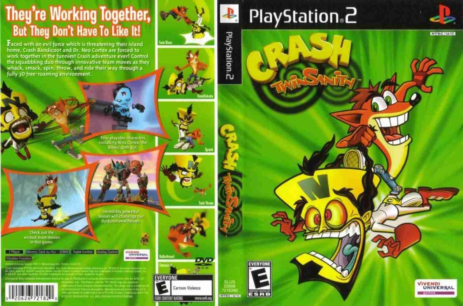 Descargar Crash Twinsanity  [BRASIL] por Torrent